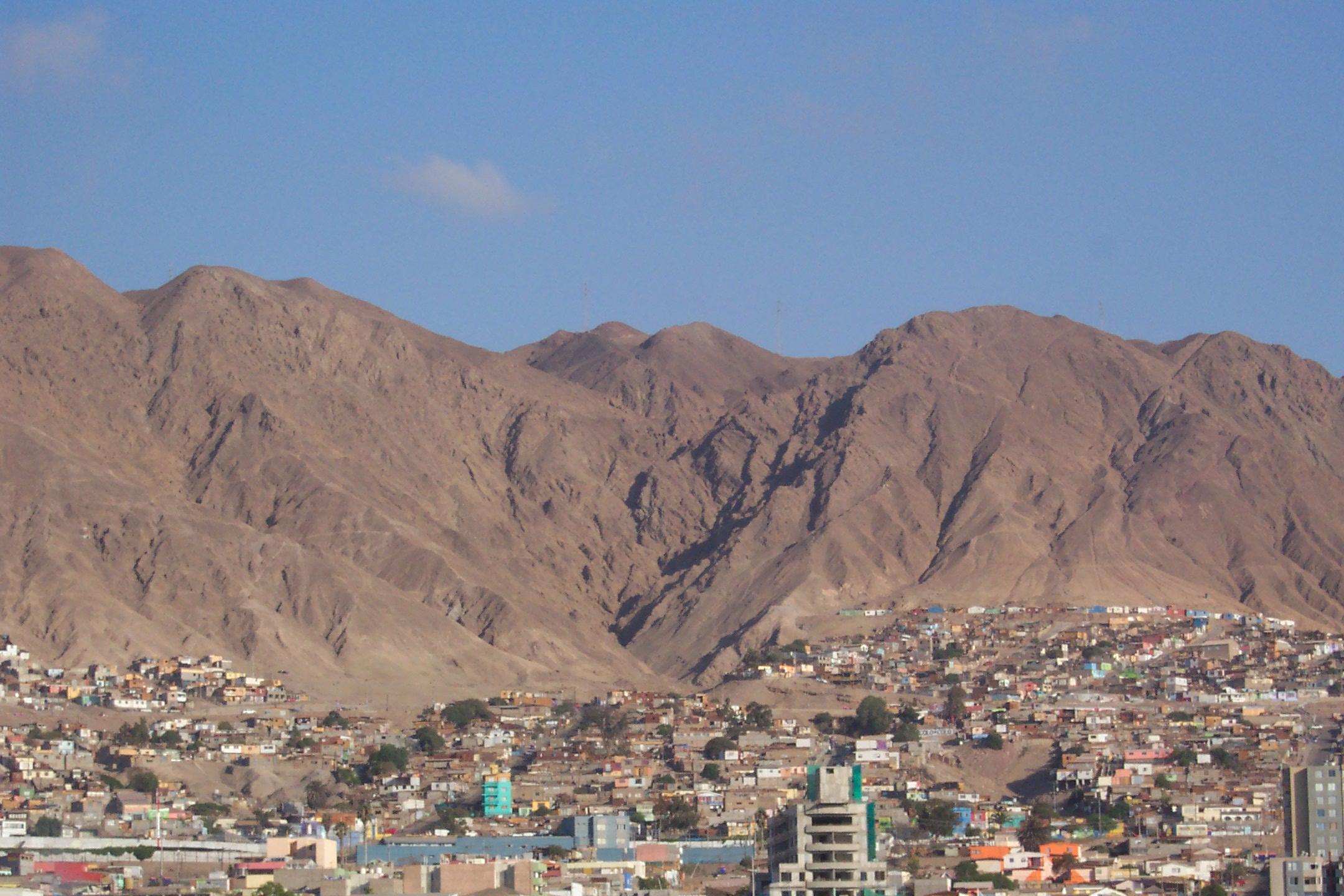 Iquique To Antofagasta Chile